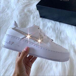 ⚡️Custom Nike Air Force 1 Sage Low⚡️